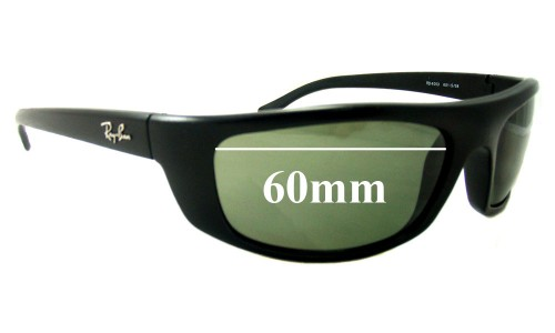 Ray Ban RB4053 Predator Replacement Sunglass Lenses - 60mm Wide