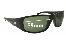 Ray Ban RB4057 Replacement Sunglass Lenses - 58mm Wide