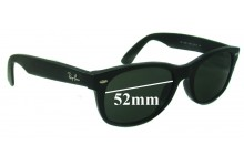 Ray Ban RB5184 Replacement Sunglass Lenses - 52mm wide