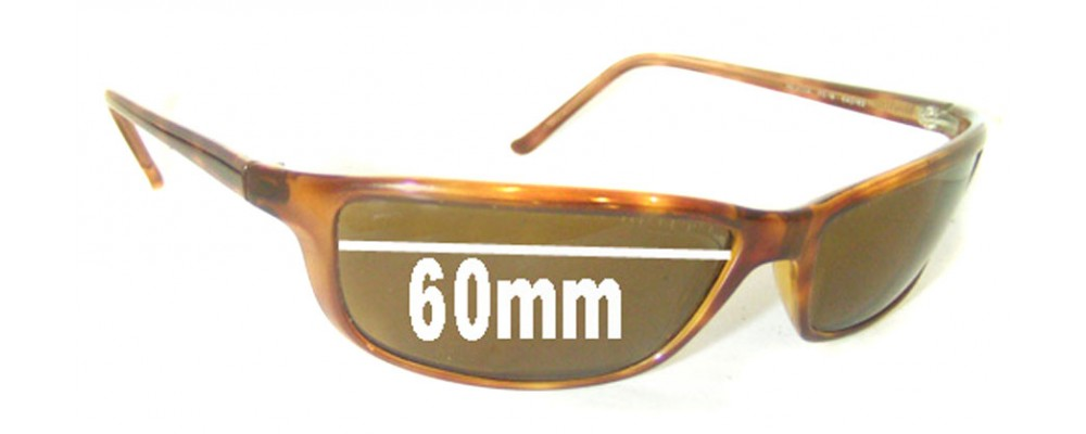 a36e7f5e7e4 Ray Ban RB4034 Replacement Sunglass Lenses - 60mm across