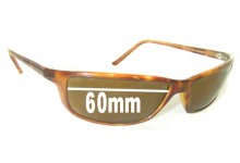 Ray Ban RB4034 Replacement Sunglass Lenses - 60mm across