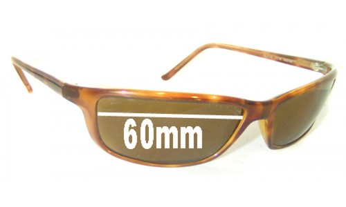 Sunglass Fix Replacement Lenses for Ray Ban RB4034 - 60mm across
