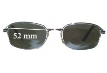 8e498d522ff Sunglass Fix Replacement Lenses for Ray Ban W2320 Bausch Lomb - 52mm wide