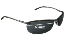 Ray Ban RB3186 Replacement Sunglass Lenses - 63mm wide