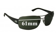 Sunglass Fix New Replacement Lenses for Ray Ban RB3426 - 61mm Wide