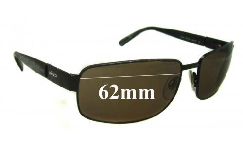 Revo 3043 Replacement Sunglass Lenses - 62MM WIDE