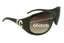 Roberto Cavalli 315-S Replacement Sunglass Lenses - 66mm wide