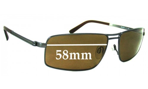 Rodenstock R1272 Replacement Sunglass Lenses - 58mm Wide