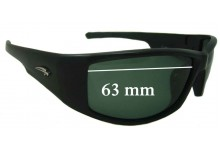 Ryders Unknown Replacement Sunglass Lenses - 63mm wide