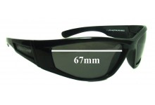 Spotters Switch Replacement Sunglass Lenses - 67mm wide