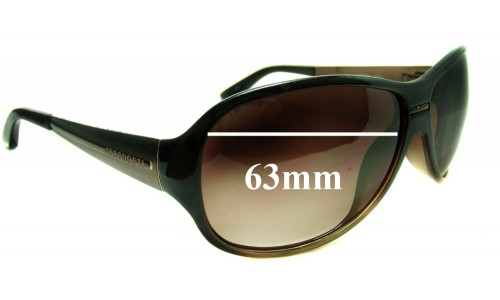 Serengeti Roma Replacement Sunglass Lenses - 63mm wide