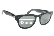 Shuron Sidewinder New Sunglass Lenses - 48mm Wide