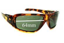 Smith Embargo Replacement Sunglass Lenses - 64mm wide