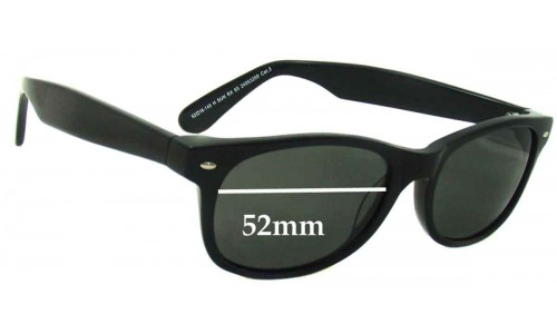 Spec Savers New Sunglass Lenses 52mm wide