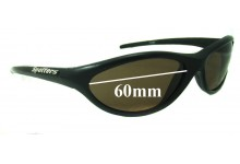 Spotters Slider Replacement Sunglass Lenses - 60mm wide