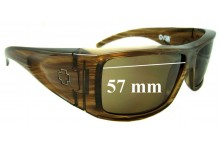 Spy Optics Oasis Replacement Sunglass Lenses - 57mm wide