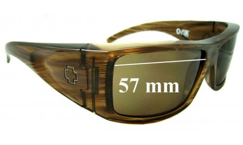 Spy Optics Oasis New Sunglass Lenses - 57mm wide