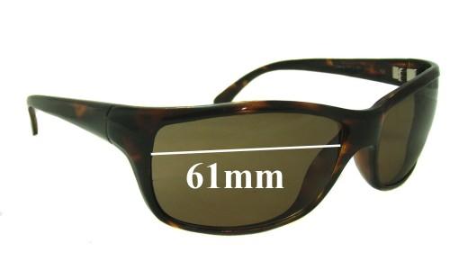 Serengeti Conrad Replacement Sunglass Lenses - 61mm wide