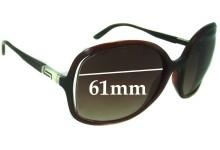 Versace MOD 4174 Replacement Sunglass Lenses - 61mm Wide