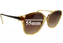 Vienna Line Replacement Sunglass Lenses - 55mm wide