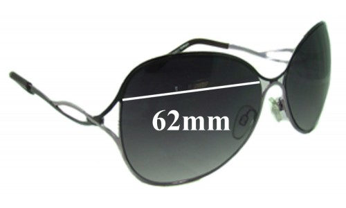 Viventy 62mm Wide Replacement Sunglass Lenses