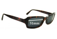 Vogue VO2208-S Replacement Sunglass Lenses - 51mm wide
