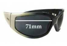 Vogue VO2356-S Replacement Sunglass Lenses - 71mm  wide