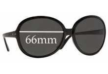 Vogue VO2512-S Replacement Sunglass Lenses - 66mm Wide