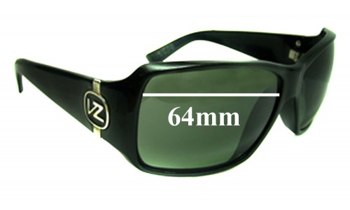 Von Zipper Lexicon Replacement Sunglass Lenses - 64mm wide