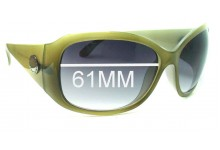Witchery Frankie Replacement Sunglass Lenses - 61mm Wide