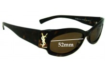 Yves Saint Laurent YSL 6059/S Replacement Sunglass Lenses - 52mm wide
