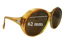 Zeiss Marwitz Replacement Sunglass Lenses 62mm wide