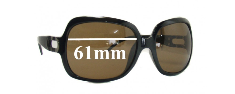 Aldo Unknown Replacement Sunglass Lenses - 61mm wide