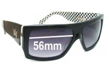 AM Grizzly Replacement Sunglass Lenses - 56mm Wide