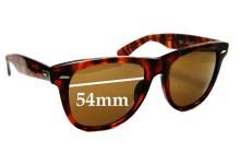 American Optics AO 2T Replacement Sunglass Lenses - 54mm wide
