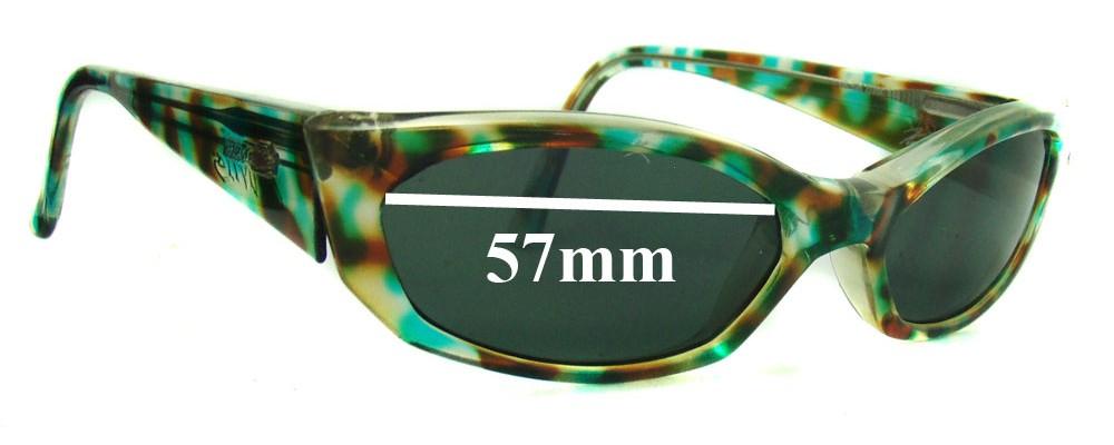 Arnette Mantis Replacement Sunglass Lenses - 57mm wide 32mm high