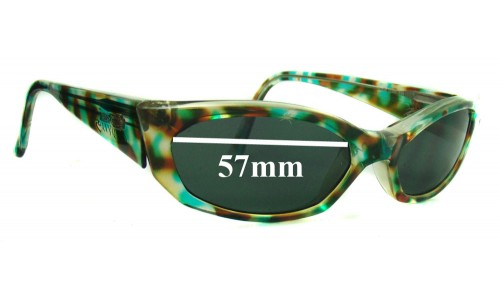 Arnette Mantis Replacement Sunglass Lenses - 57mm wide 32mm high