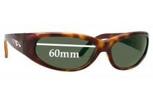 New Arnette Catfish model AN4051 Replacement Sunglass Lenses -60mm Wide