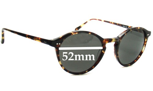 Anglo American Optical Mod 406 Replacement Sunglass Lenses - 52mm Wide