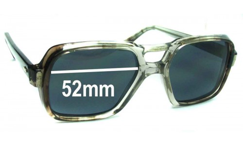 AOCO 145 Replacement Sunglass Lenses - 52mm Wide