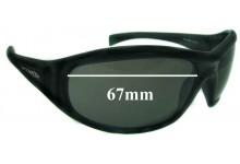 Arnette AN4054 Replacement Sunglass Lenses - 67mm Wide