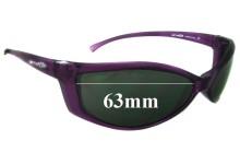 Arnette Swinger AN250 Replacement Sunglass Lenses - 63mm wide
