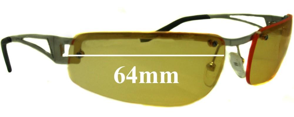 AN3010 Arnette Fakie Replacement Sunglass Lenses - 64mm wide