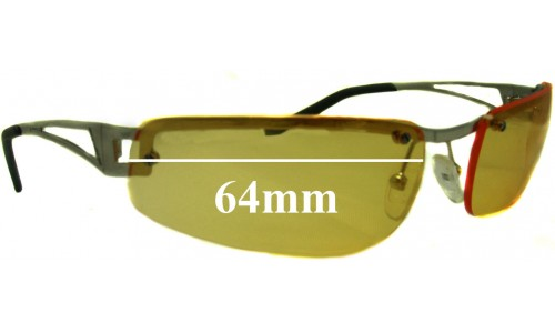 AN3010 Arnette Fakie Replacement Sunglass Lenses - 64mm wide