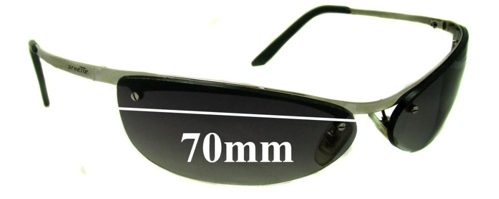 AN3011 Arnette Grasshopper Replacement Sunglass Lenses - 70mm wide