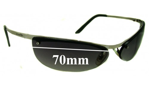 AN3011 Arnette Grasshopper Replacement Sunglass Lenses - 70mm wide