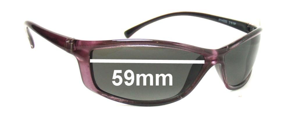 Arnette AN4035 Replacement Sunglass Lenses - 59mm wide