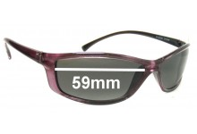 Arnette AN4035 Replacement Sunglass Lenses - 59mm wide