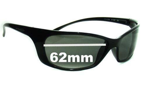 Arnette Pyscho AN4096 Replacement Sunglass Lenses - 62mm Wide