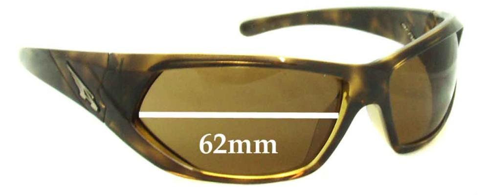 Arnette Slander AN4108 Replacement Sunglass Lenses - 62mm wide